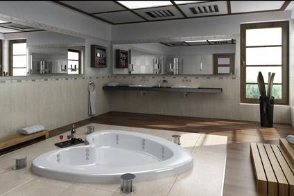 amenagement de salle de bains le coin salle de bains avec. Black Bedroom Furniture Sets. Home Design Ideas
